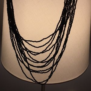 Jewelry - Black beaded layered necklace